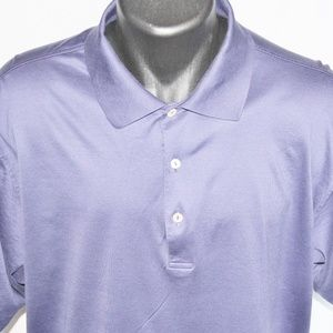 Peter Millar Crown 100% Cotton Golf Polo, XL NICE